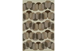 60X90 Rug-Mod Squares Brown
