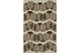 108X156 Rug-Mod Squares Brown