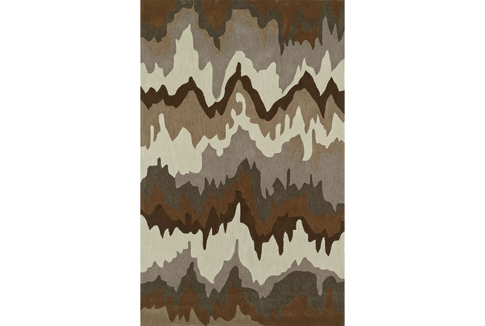 42X66 Rug-Ripple Brown
