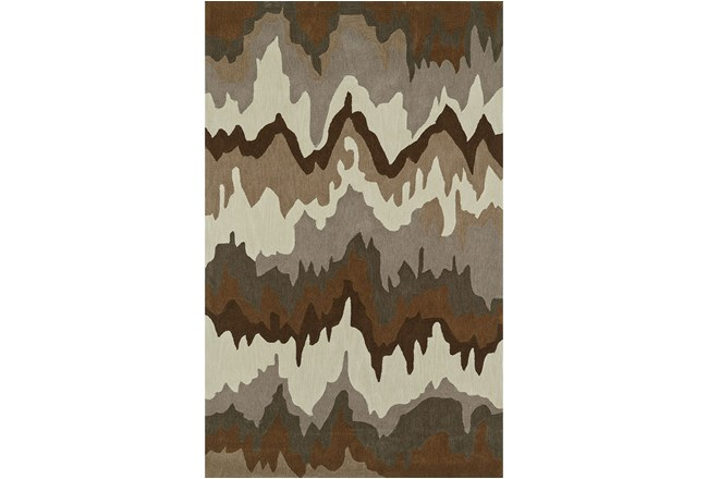 42X66 Rug-Ripple Brown - 360