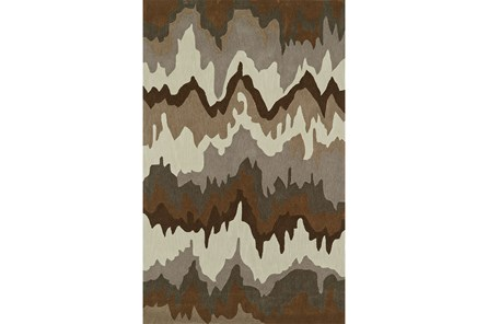 96X120 Rug-Ripple Brown - Main