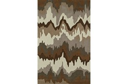 108X156 Rug-Ripple Brown