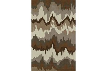 108X156 Rug-Ripple Brown