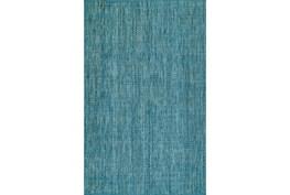 42X66 Rug-Wool Tweed Denim