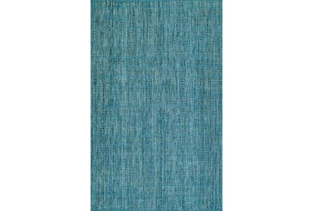 108X156 Rug-Wool Tweed Denim