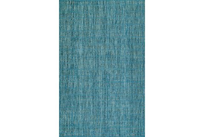 108X156 Rug-Wool Tweed Denim - 360