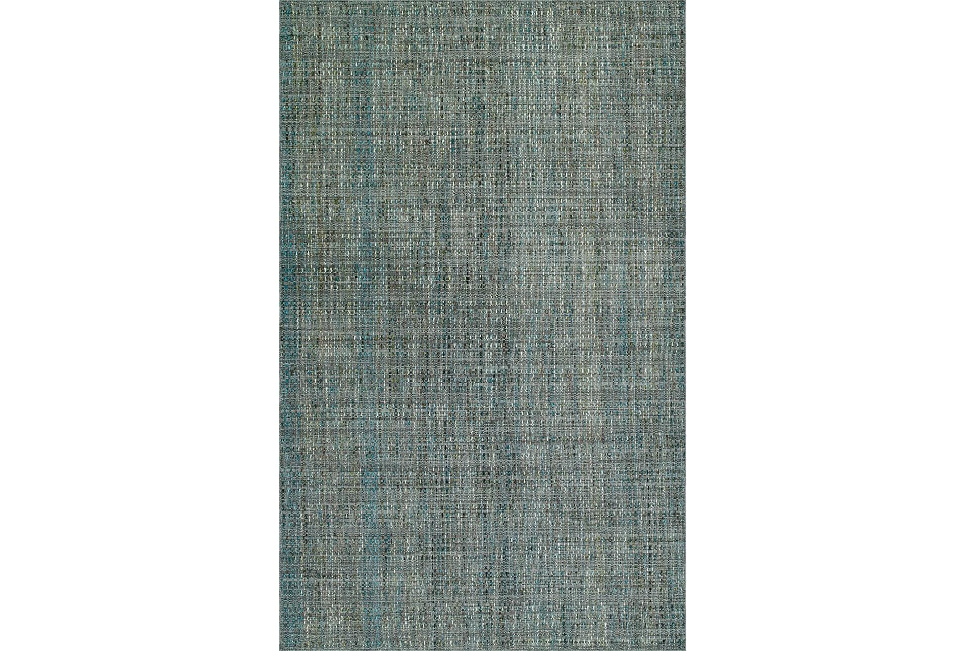 60x90 Rug Wool Tweed Grey Living Spaces