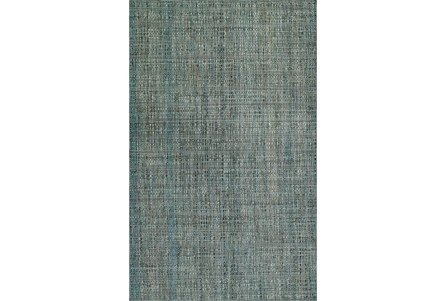96X120 Rug-Wool Tweed Grey