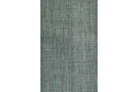 96X120 Rug-Wool Tweed Grey - Main