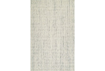 42X66 Rug-Wool Tweed Ivory