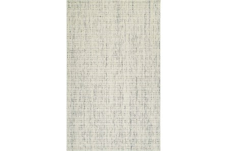 42X66 Rug-Wool Tweed Ivory - Main