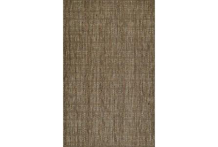 96X120 Rug-Wool Tweed Mocha