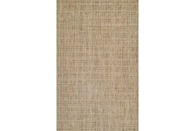 42X66 Rug-Wool Tweed Sand - 360