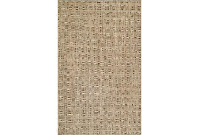 42X66 Rug-Wool Tweed Sand - 360