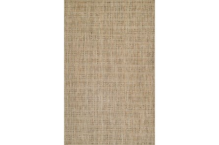 108X156 Rug-Wool Tweed Sand