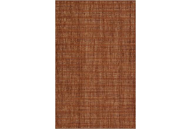 96X120 Rug-Wool Tweed Spice - 360
