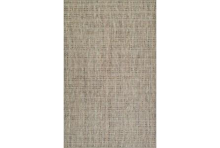 42X66 Rug-Wool Tweed Taupe