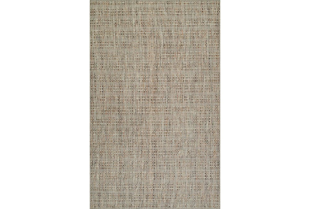 96X120 Rug-Wool Tweed Taupe