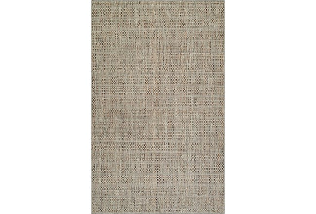 96X120 Rug-Wool Tweed Taupe - 360