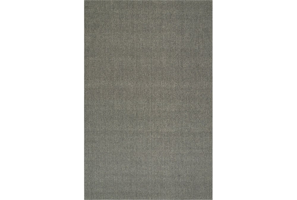 27X96 Rug-Wool Sisal Grid Ash