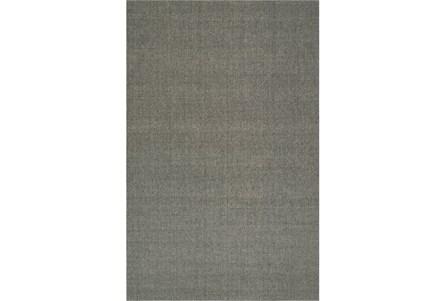60X96 Rug-Wool Sisal Grid Ash
