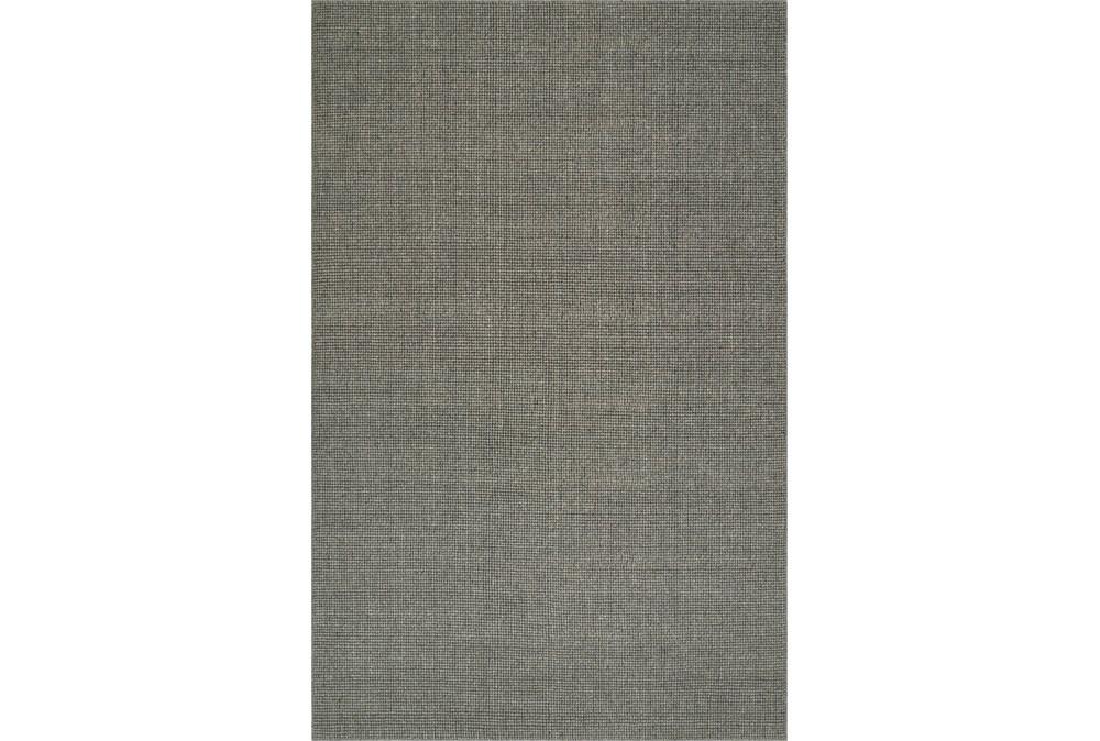 96X120 Rug-Wool Sisal Grid Ash