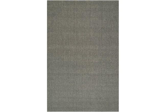 96X120 Rug-Wool Sisal Grid Ash - 360