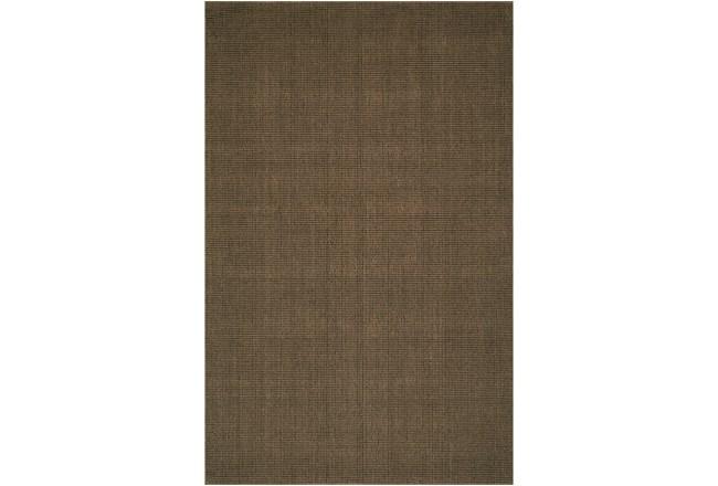 27X96 Rug-Wool Sisal Grid Fudge - 360