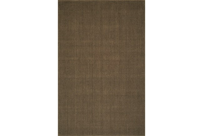 42X66 Rug-Wool Sisal Grid Fudge - 360