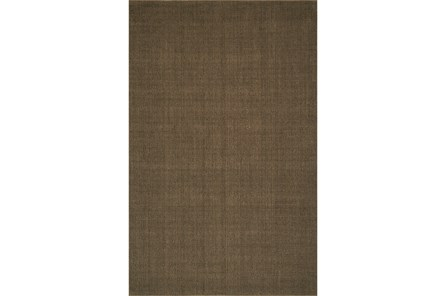 60X96 Rug-Wool Sisal Grid Fudge