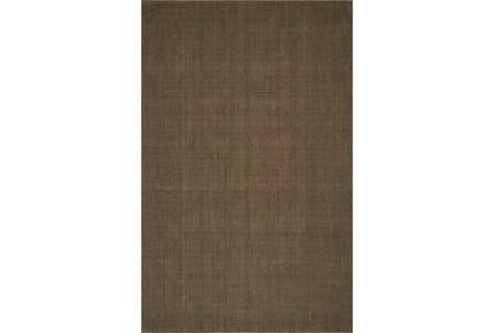 96X120 Rug-Wool Sisal Grid Fudge