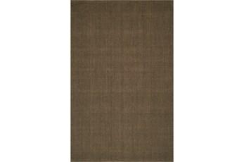 108X156 Rug-Wool Sisal Grid Fudge