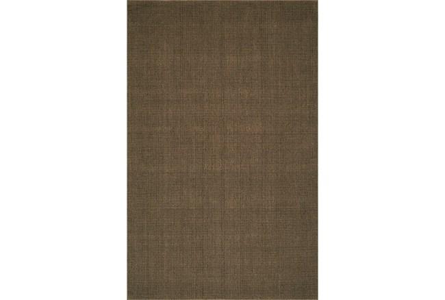 108X156 Rug-Wool Sisal Grid Fudge - 360