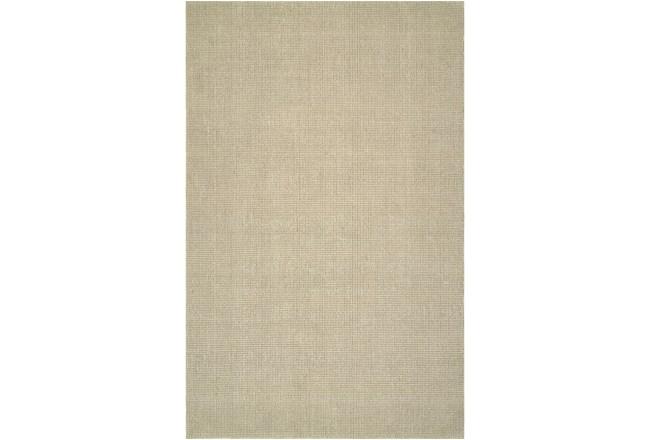 108X156 Rug-Wool Sisal Grid Ivory - 360