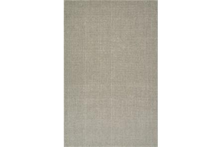 27X96 Rug-Wool Sisal Grid Mushroom