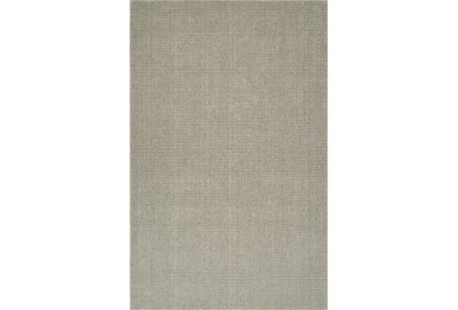 27X96 Rug-Wool Sisal Grid Mushroom - 360