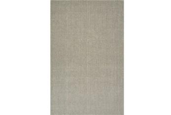 9'x13' Rug-Wool Sisal Grid Mushroom