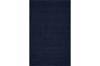 27X96 Rug-Wool Sisal Grid Navy
