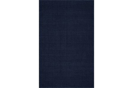 42X66 Rug-Wool Sisal Grid Navy