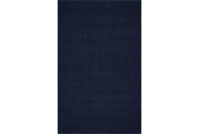 42X66 Rug-Wool Sisal Grid Navy - 360