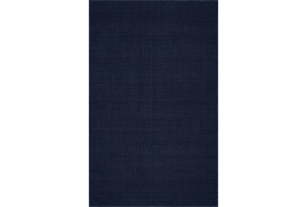 96X120 Rug-Wool Sisal Grid Navy