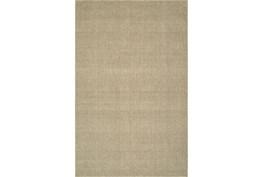 27X96 Rug-Wool Sisal Grid Oatmeal