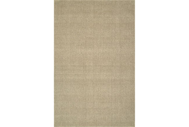 27X96 Rug-Wool Sisal Grid Oatmeal - 360