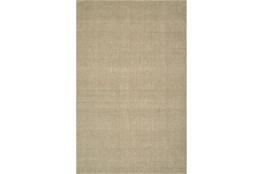 42X66 Rug-Wool Sisal Grid Oatmeal