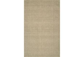 5'x8' Rug-Wool Sisal Grid Oatmeal