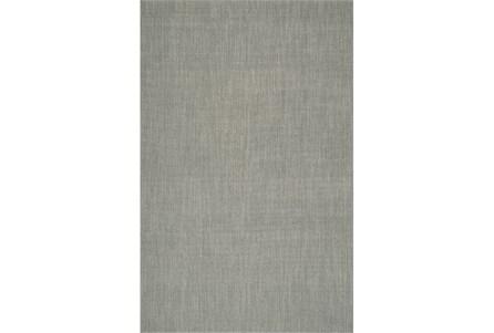 42X66 Rug-Wool Sisal Grid Silver