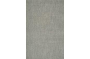 96X120 Rug-Wool Sisal Grid Silver