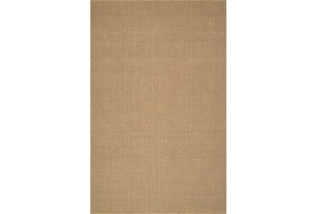 27X96 Rug-Wool Sisal Grid Wheat - 360