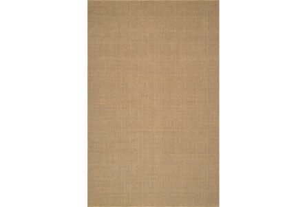 42X66 Rug-Wool Sisal Grid Wheat