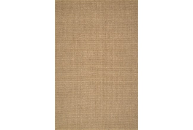 42X66 Rug-Wool Sisal Grid Wheat - 360